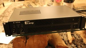 TEST AMPLIS T AMP E 400 THOMANN