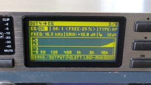TEST FILTRES ACTIFS DCX 2496 VS BSS FTS 366t